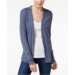 [Michael Kors] Ribbed open front cardigan